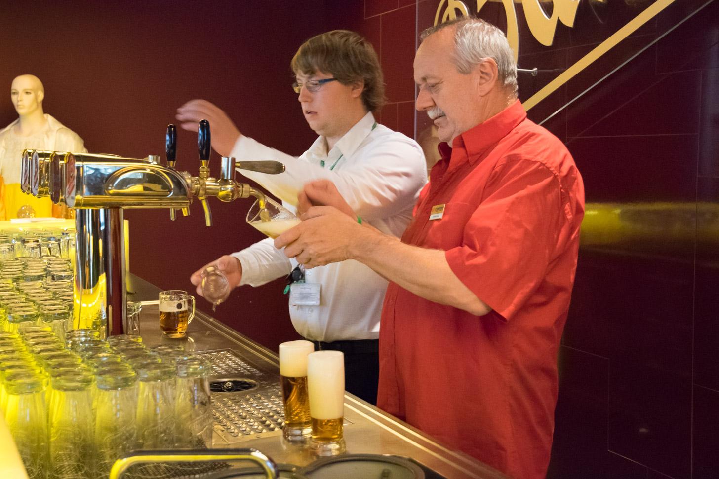 Bezoek aan de brouwerij van Pilsen