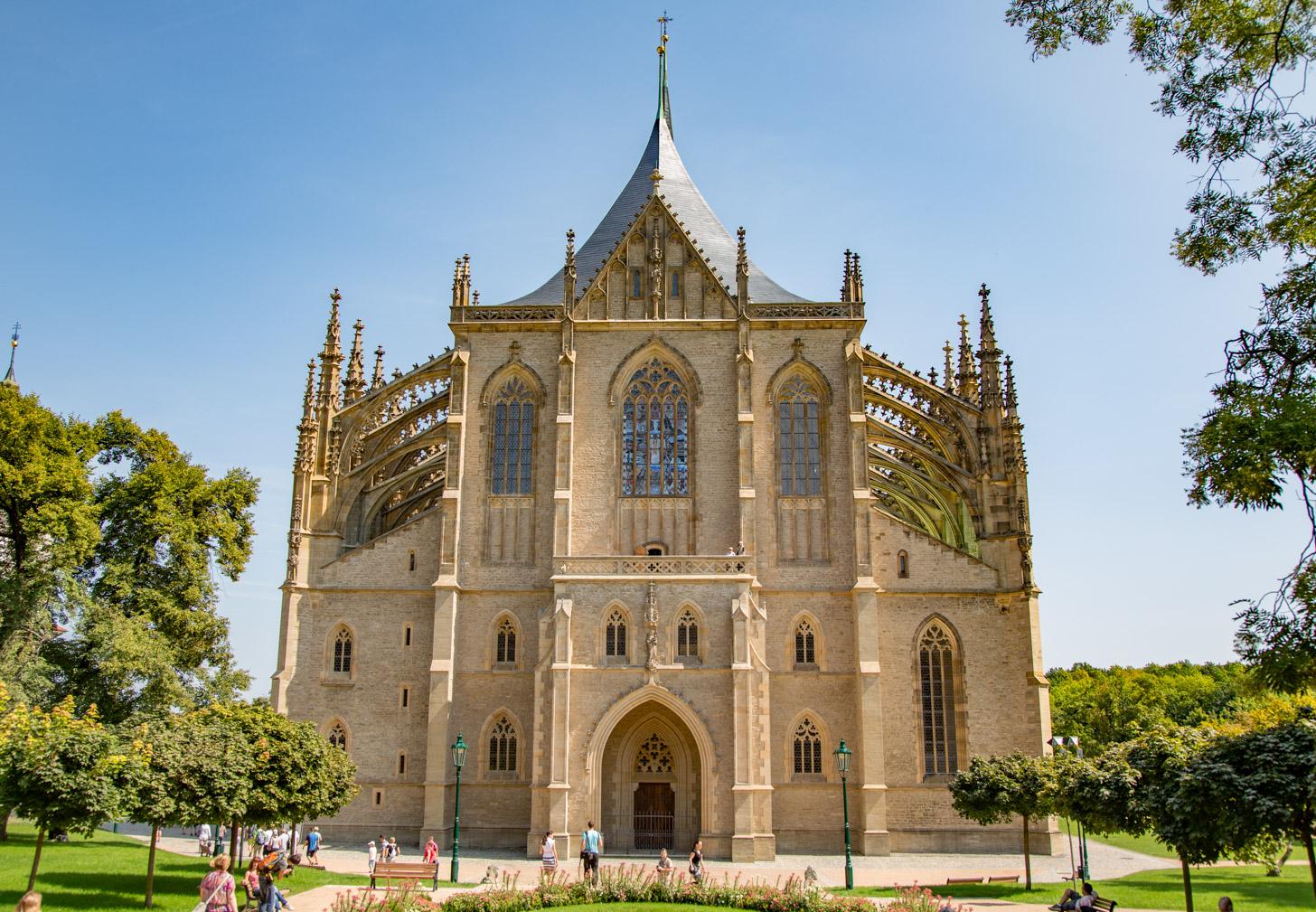 De Kathedraal van Kutná Hora