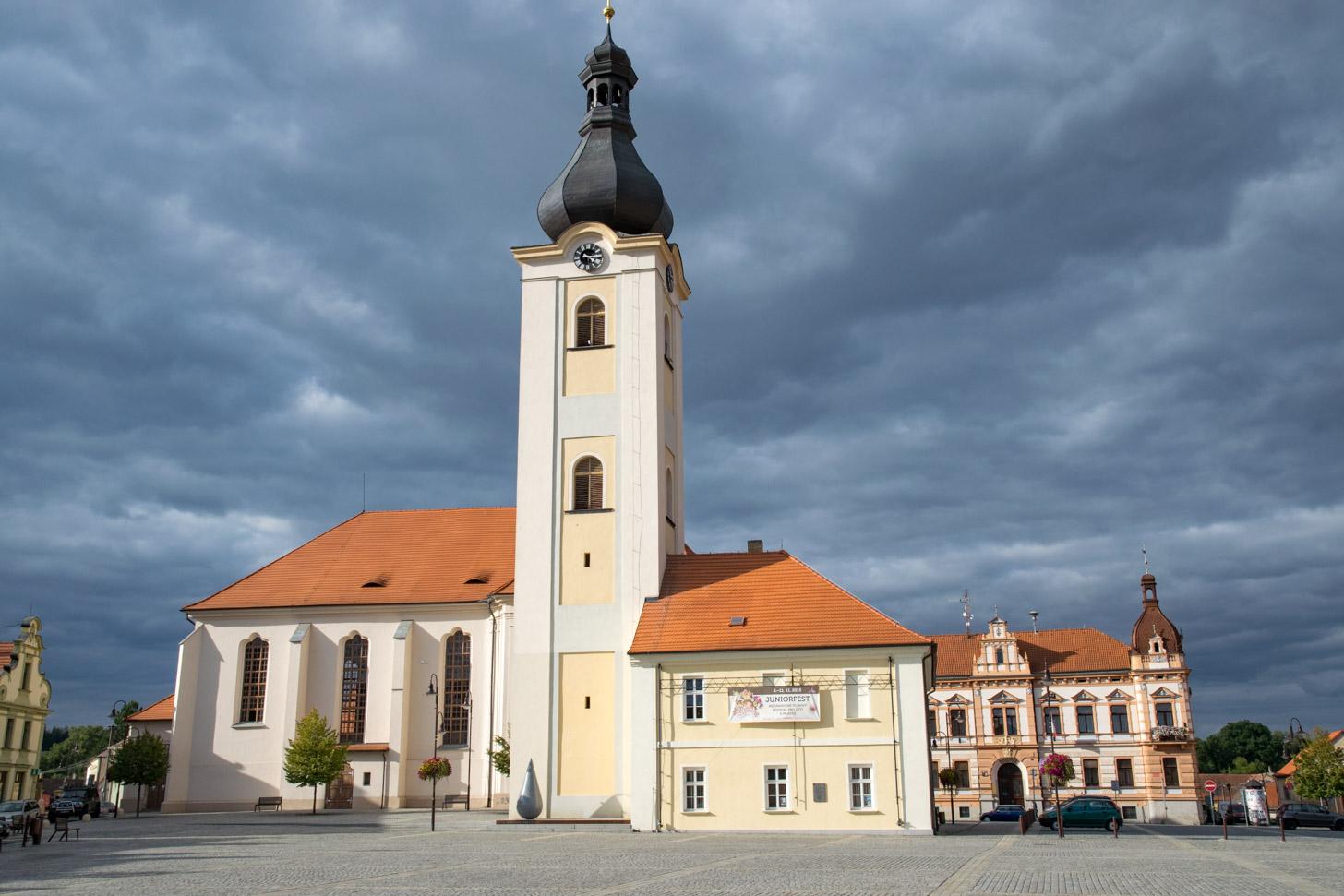 Een mooi dorp in Tsjechië