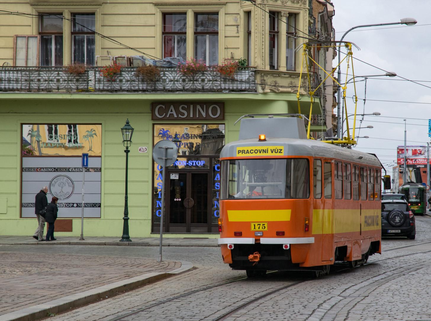 Een tram in Tsjechië