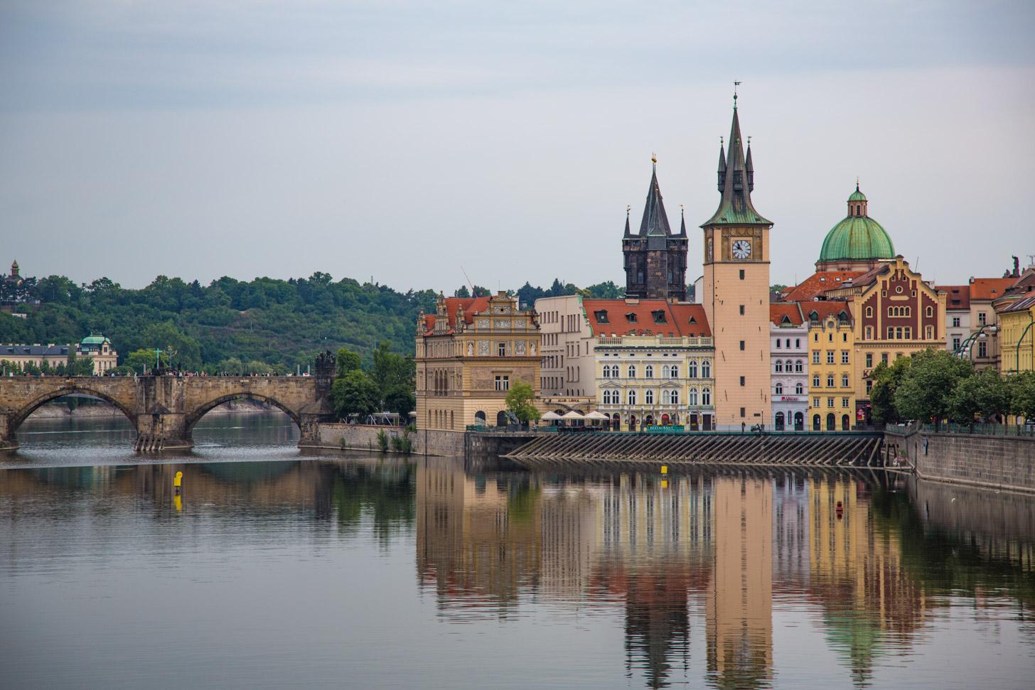 Praag is veruit de populairste bestemming binnen Tsjechië