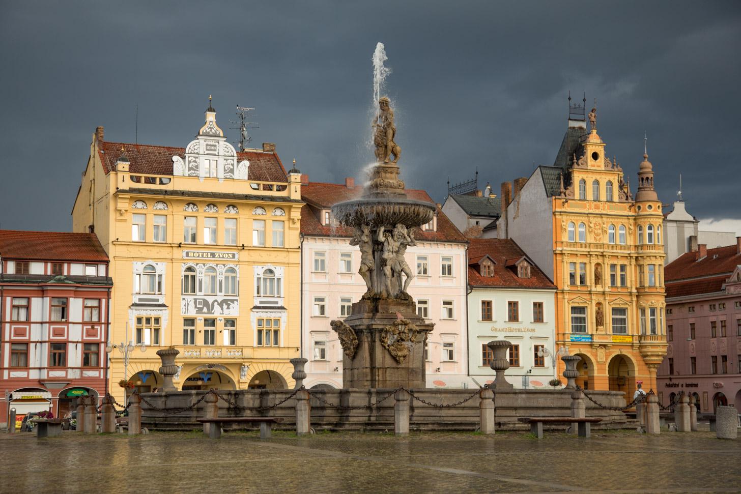 Regen in Tsjechië
